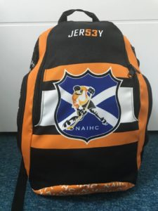 Backpack North Ayrshire Ice Hockey Club