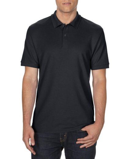 Gildan 75800 Polo Adult Black