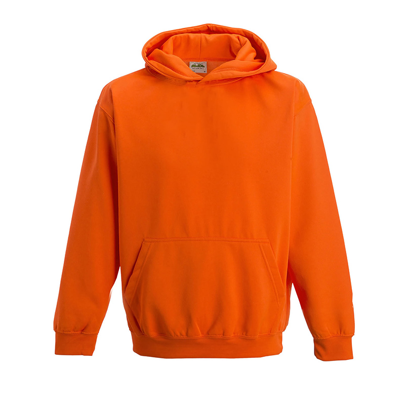 Kids Hoodie Electric Orange