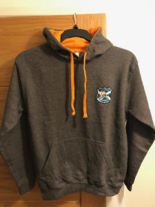 Mixed Colour Hoodie Heat Sealed North Ayrshire Ice Hockey Club