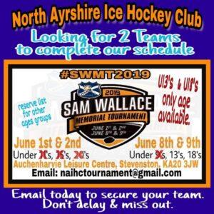 Sam Wallace Memorial Tournament 2019 Weekend 2 North Ayrshire