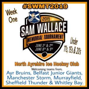 Sam Wallace Memorial Tournament 2019 North Ayrshire Ice Hockey Club