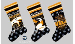 Black Stockings Predators Wild Penguins