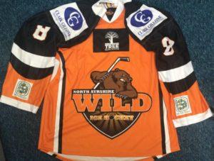 Wild Replica Jerseys North Ayrshire Ice Hockey Club (1)
